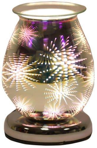 AROMA Oval 3D Electric Wax Melt Burner - Firework
