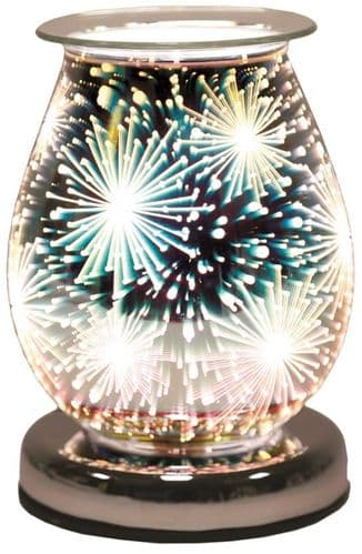 AROMA Oval 3D Electric Wax Melt Burner - Supernova