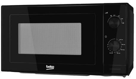 BEKO 20 Litre 700w Manual Control Black Microwave MOC20100B