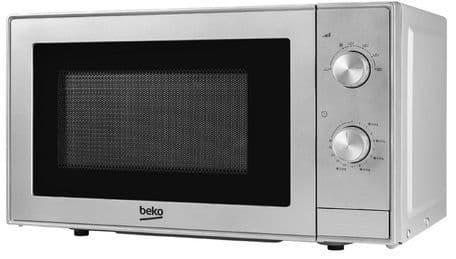 BEKO 20 Litre 700w Manual Control Silver Microwave MOC20100S