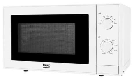 BEKO 20 Litre 700w Manual Control White Microwave MOC20100W