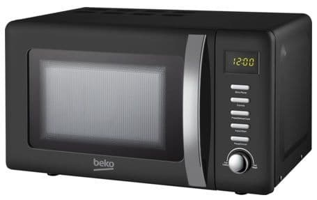 BEKO 800w Digital Control Black Retro Microwave MOC20200B