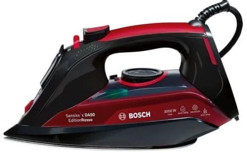 BOSCH Sensixx'x DA50 Edition Rosso Steam Iron 3050w TDA5070GB