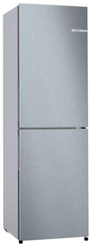 BOSCH Serie 2 182cm Freestanding No Frost Fridge Freezer St. Steel KGN27NLFAG