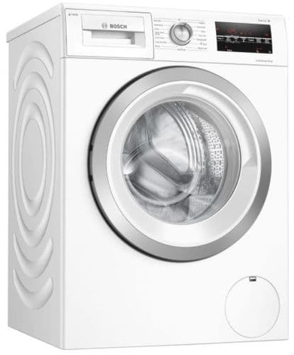 BOSCH Serie 6 i-Dos Washing Machine 8kg 1400 Spin White WAU28S80GB