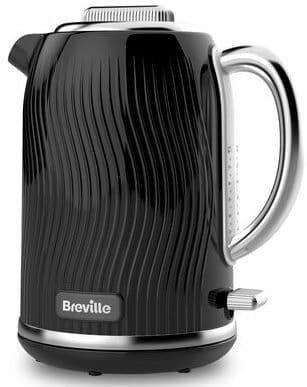 BREVILLE Flow Collection Black Jug Kettle VKT090