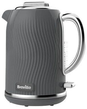 BREVILLE Flow Collection Grey Jug Kettle VKT092