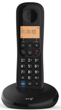 BT Everyday Single Cordless Telephone with Call Block