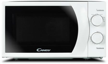 CANDY 20 Litre 700w Manual Control White Microwave CMW2070M-UK