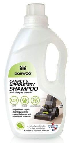 DAEWOO Pro-biotic Carpet & Upholstery Anti Allergen Shampoo 1.5L
