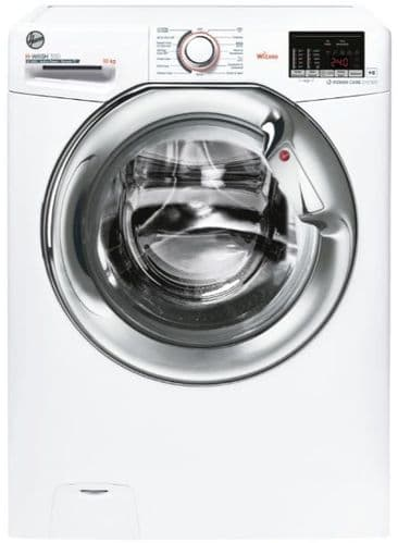 HOOVER H-WASH 300 Lite Washing Machine 10kg Load 1400 Spin White H3WS4105DACE-80