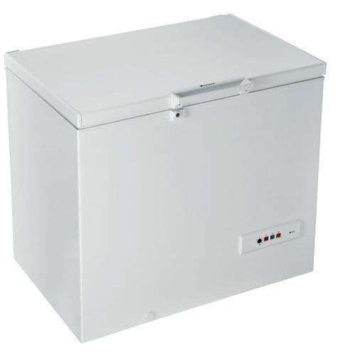 HOTPOINT 101cm Chest Freezer White 251 Litres CS1A250HFA UK