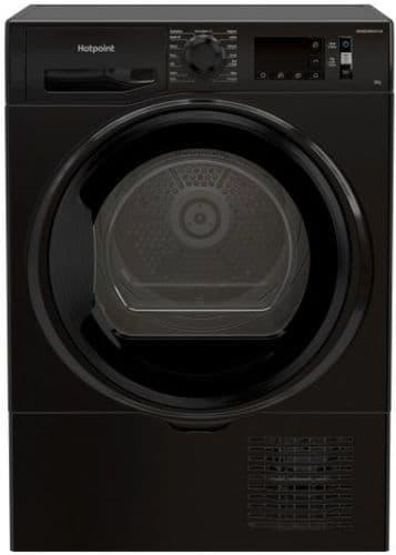 HOTPOINT Condenser Dryer 8kg Load with Sensor Dry Black H3D81BUK