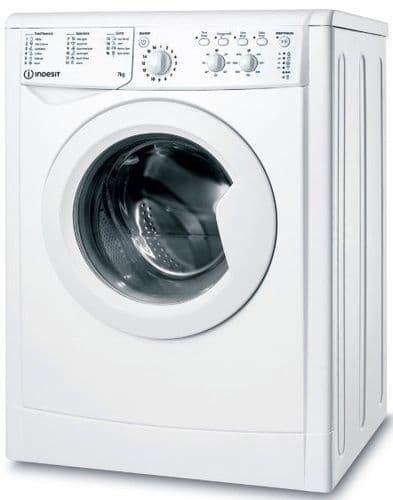 INDESIT EcoTime Washing Machine 7kg Load 1200 Spin White IWC71252WUKN