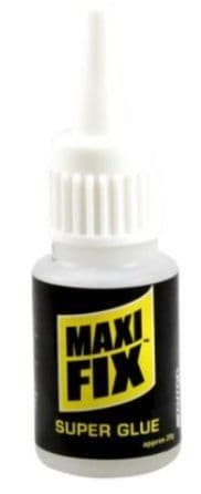 MAXI-FIX 20g Super Glue Adhesive Bottle 211010