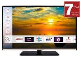 MITCHELL & BROWN 24'' LED Smart Television with Freeview Play and Amazon Prime JB-24SM1811