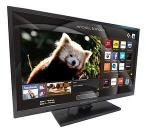 MITCHELL & BROWN 32'' LED Smart Television with Built-in DVD Player and Freeview Play JB321811FSMDVD