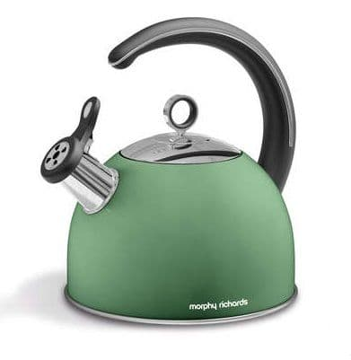 MORPHY RICHARDS Accents Sage Stove Kettle 2.5L 974752