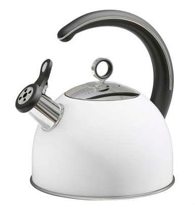 MORPHY RICHARDS Accents White Stove Kettle 2.5L 79012