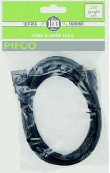 PIFCO HDMI - HDMI Lead Black 2m