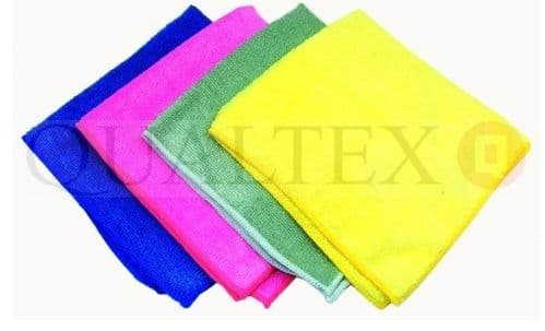 QUALTEX Clever Cloths 4pk Multi-coloured