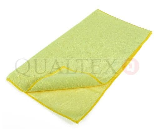 QUALTEX Clever Cloths All Purpose Cloth 10pk - Yellow