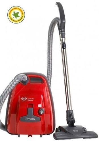 SEBO Bagged Cylinder Vacuum Cleaner K1 RED ePower 92663GB