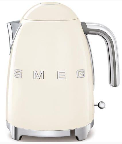 SMEG 50's Style Retro Jug Kettle Cream KLF03CRUK