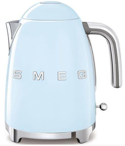 SMEG 50's Style Retro Jug Kettle Pastel Blue KLF03PBUK