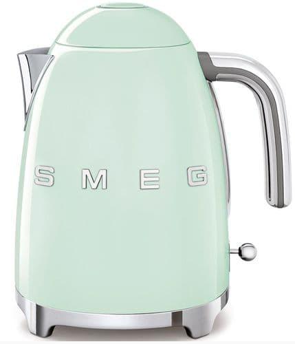 SMEG 50's Style Retro Jug Kettle Pastel Green KLF03PGUK