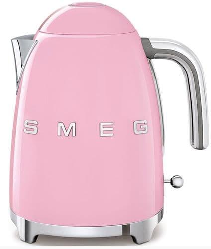 SMEG 50's Style Retro Jug Kettle Pink KLF03PKUK