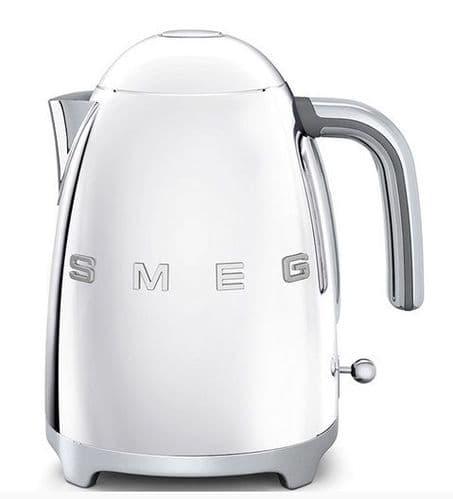 SMEG 50's Style Retro Jug Kettle Polished Stainless Steel KLF03SSUK