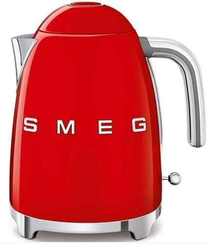 SMEG 50's Style Retro Jug Kettle Red KLF03RDUK