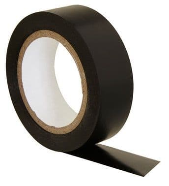 STATUS Electrical Insulation Tape Roll Black 10m