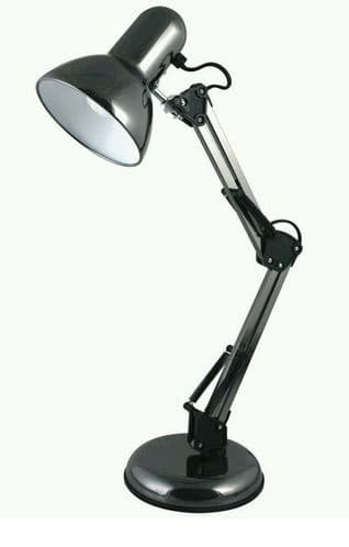 STATUS Valencia Angled Desk Lamp Black