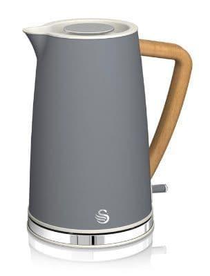 SWAN 1.7L Nordic Jug Kettle Grey SK14610GRYN