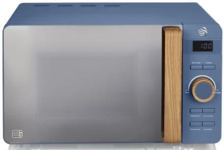 SWAN 20L Nordic Digital Microwave Blue SM22036BLUN