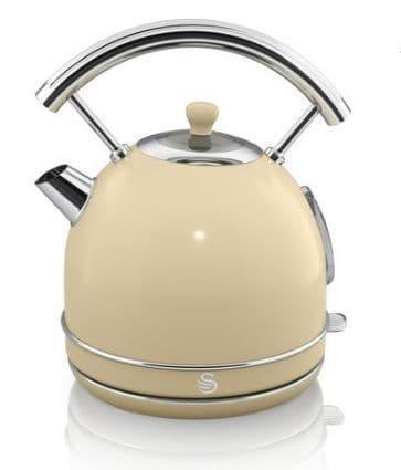 SWAN Retro 1.7 Litre Dome Kettle Cream SK34020CN
