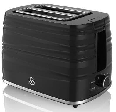 SWAN Symphony 2 Slice Toaster Black ST31050BN