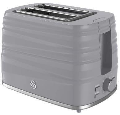 SWAN Symphony 2 Slice Toaster Grey ST31050GRN