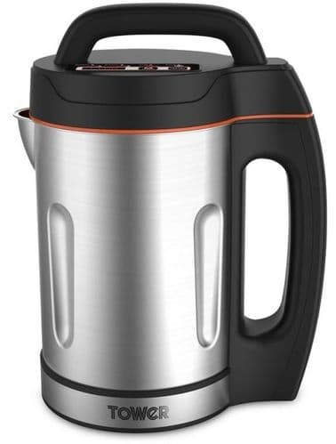 TOWER 1.6L Soup Maker with St. Steel Jug and Blade T12031