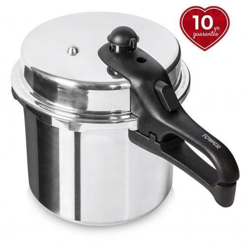 TOWER 7 Litre Aluminium High Dome Pressure Cooker T80211