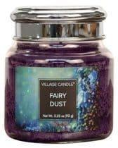 VILLAGE CANDLE Petite 3.75oz Candle Jar Fairy Dust