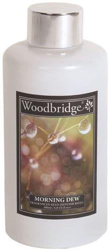 WOODBRIDGE Reed Diffuser Liquid Refill Bottle - Morning Dew 200ml