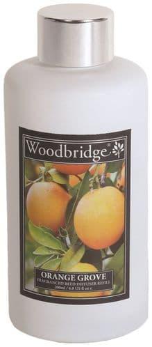 WOODBRIDGE Reed Diffuser Liquid Refill Bottle - Orange Grove 200ml