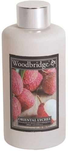 WOODBRIDGE Reed Diffuser Liquid Refill Bottle - Oriental Lychee 200ml