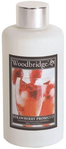 WOODBRIDGE Reed Diffuser Liquid Refill Bottle - Strawberry Prosecco 200ml
