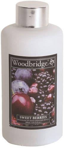 WOODBRIDGE Reed Diffuser Liquid Refill Bottle - Sweet Berries 200ml