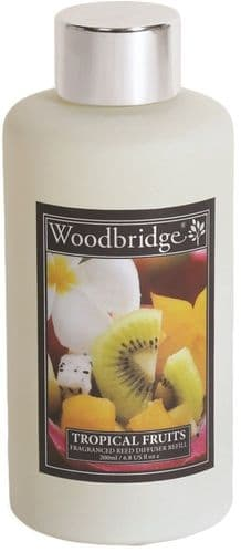 WOODBRIDGE Reed Diffuser Liquid Refill Bottle - Tropical Fruits 200ml