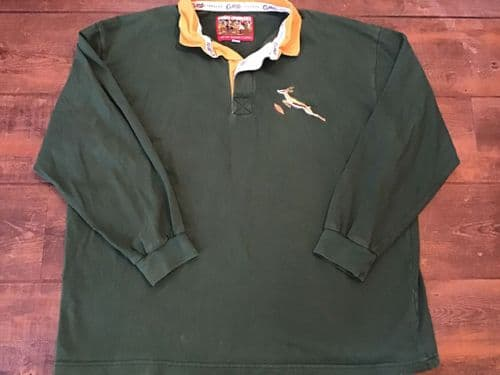 1970s South Africa L/s Cotton Traders Classics Rugby Shirt 2XL